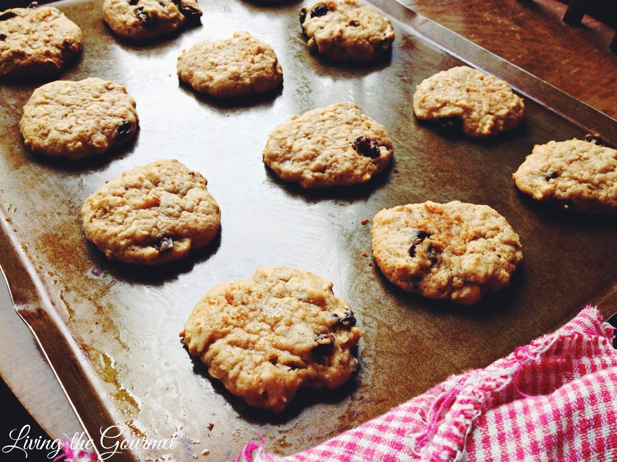 A Little Time & Help & Oatmeal Raisin Cookies