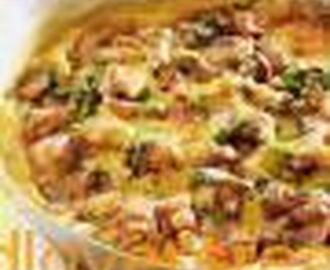 VEGETABLE BAKE WITH BOEREWORS