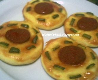 Resep: Mini Pizza with Beef Sausage