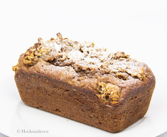 Caramelized Banana Bread with Banana Crumb