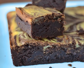 Simple comme un brownie chocolat cheesecake