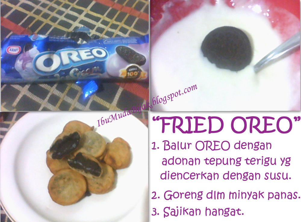 Cemilan Super Simple: Fried Oreo