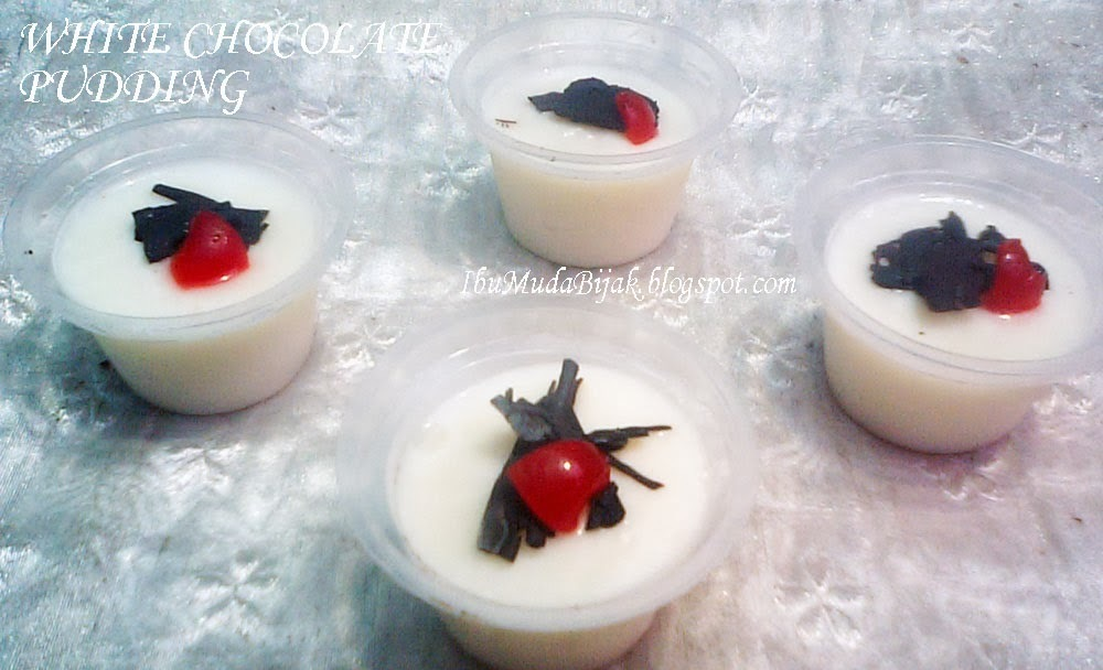 Resep: White Chocolate Pudding