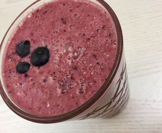 [Smoothie] Very Berry Oats