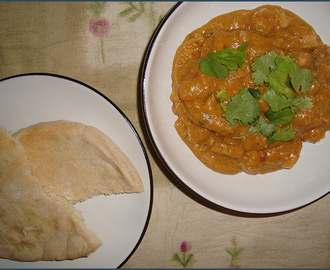 Chicken and butternut curry with peanut butter