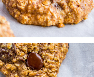 Skinny Oatmeal Chocolate Chip Cookies
