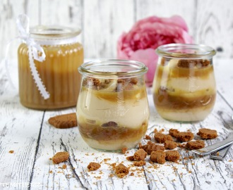 Salted Caramel Pudding Dessert ♡
