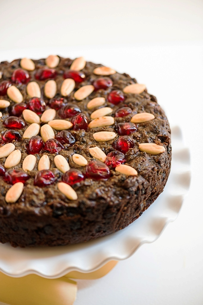 Flourless Chocolate Fruit Cake