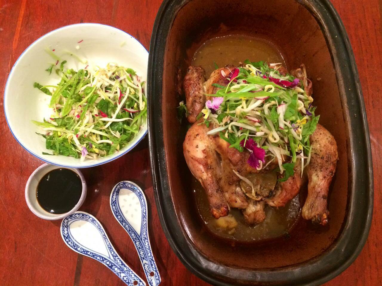 Roast Chicken with Lemongrass & Lime