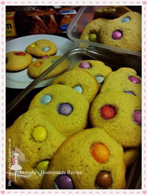 圣诞快乐Smarties饼干!! Merry Christmas~ Smarties Cookies