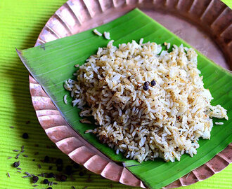 Milagu Jeeraga Sadam – Pepper Cumin Rice Recipe