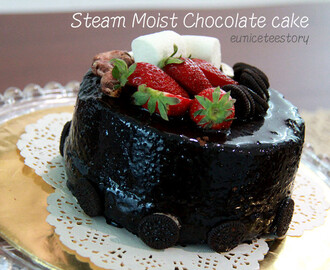 蒸朱可力蛋糕Steam Moist Chocolate cake