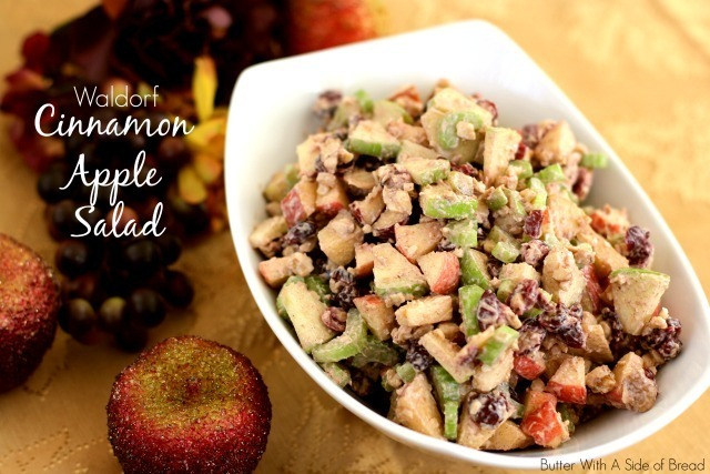 WALDORF CINNAMON APPLE SALAD