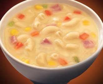 Creamy Macaroni Soup  #PhilippineRestaurantMenu