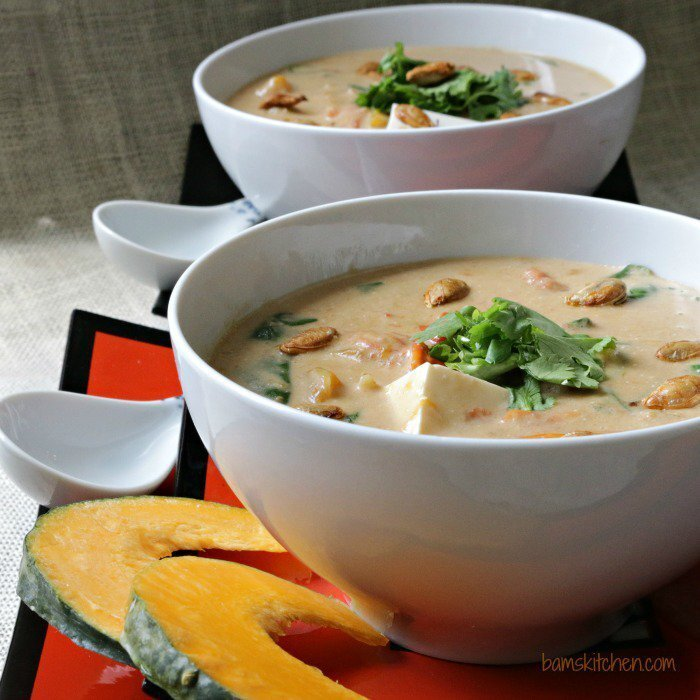 Satay Kabocha Curry