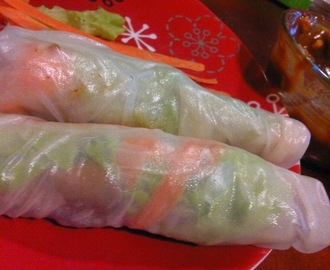 Fresh Chicken Peanut Roll and Filipino Fresh Lumpia Recipes #ChickenWorld