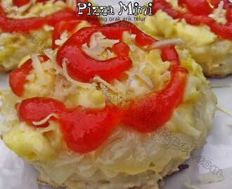 Pizza Mini topping Orak Arik Telur ( PR DA April 2013 )