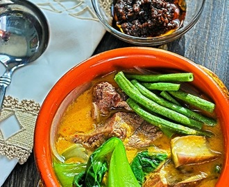 Kare-kare: Beef and Veggie Stew in Peanut Sauce