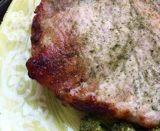 Ranch Pork Chops – Rubbed with Homemade Ranch Seasoning