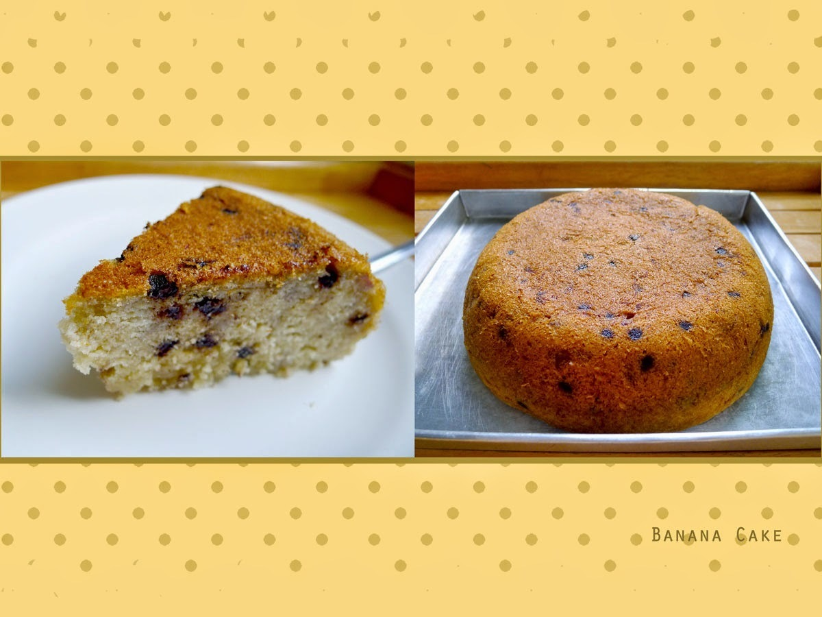 电饭锅香蕉蛋糕 Rice Cooker Banana Cake