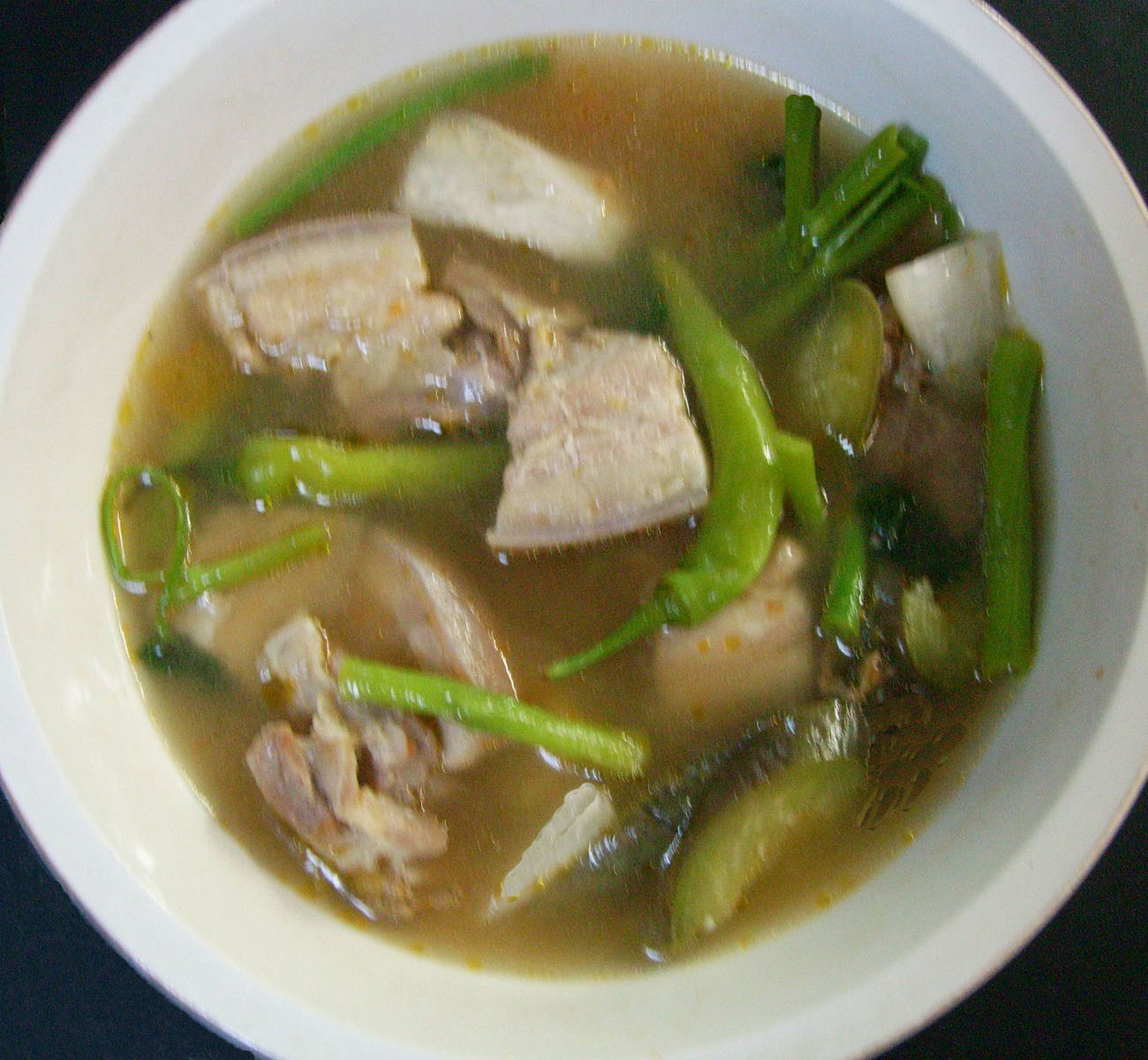 Sinigang na Baboy Recipe (Pork in Sour Soup)