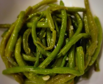 Easy Peasy Green Beans