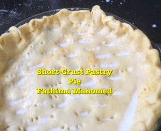 Short-Crust Pastry Pie