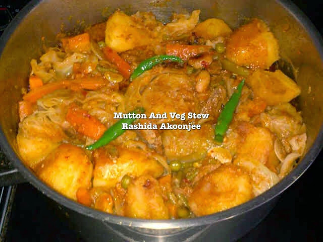 Mutton and Veg Stew