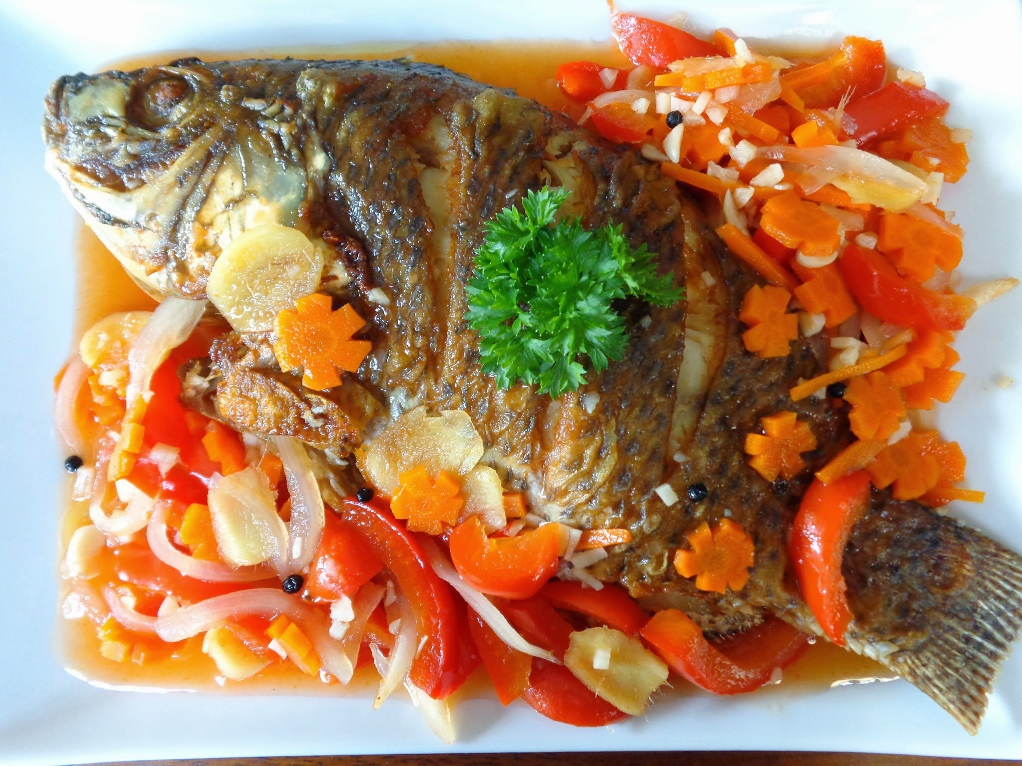 Escabeche (Sweet and Sour Fish)