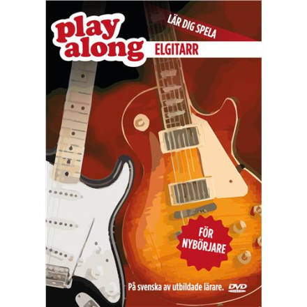 Play Along Elgitarr 1 DVD