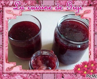 Confiture de fraises au th31 (2ème version)