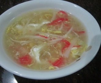 CRAB and CORN SOUP - Chinese Style