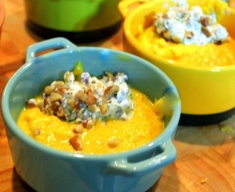 Pumpkin Soup via A KITCHEN IN FRANCE - Recipe and Cookbook Review