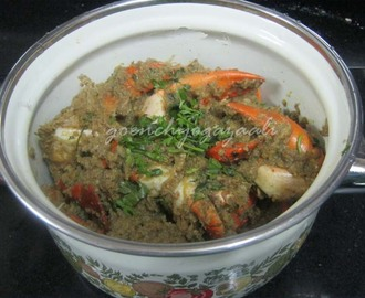 Goan Crabs Masala Recipe With Coconut