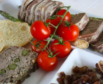 Duck Terrine with Asparagus