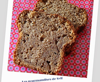 Banana bread, version lait d'amande choco