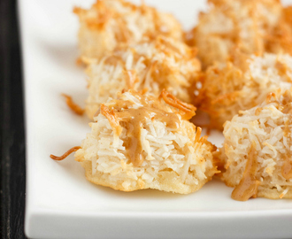 Peanut Butter Coconut Macaroons