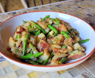 Warm Potato & Green Bean Salad
