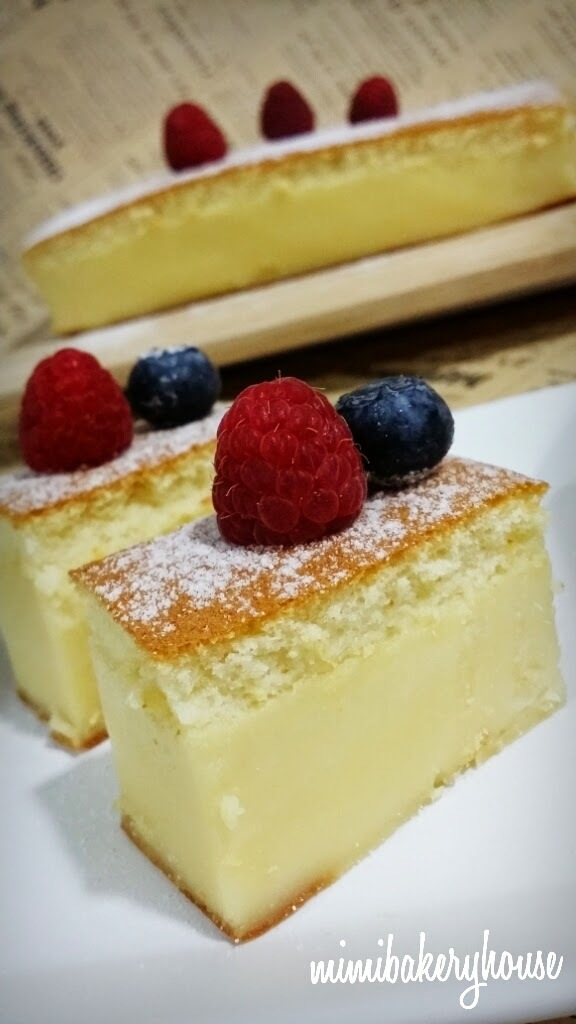 ☆Is this Magic??? ▪ Magic Custard Cake☆