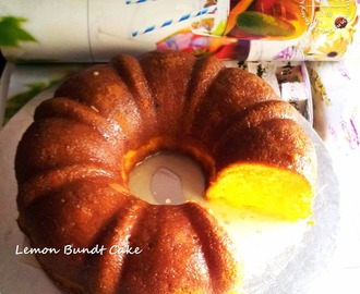 Fresh Lemon Bundt Cake for Sizzling Hot Summer