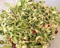 Lizards and Brussels Sprouts Slaw