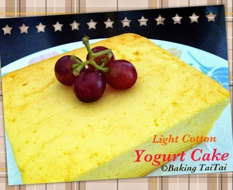 Light Cotton Yogurt Cake