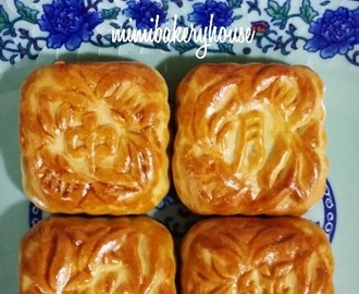 Traditional Mooncakes with Red Bean Paste (Part I) 传统月饼