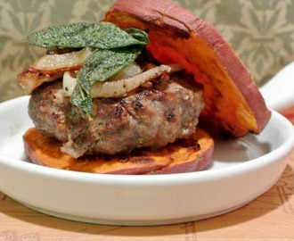 Apple Walnut Burgers