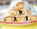 Slow Cooker Cream Cheese Chicken Taquitos