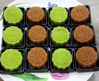 迷你冰皮月饼 (Mini Snow Skin Mooncake)