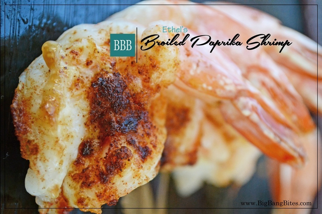 Ethel's Broiled Paprika Shrimp