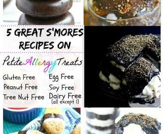 5 Great S'mores Recipes On Petite Allergy Treats