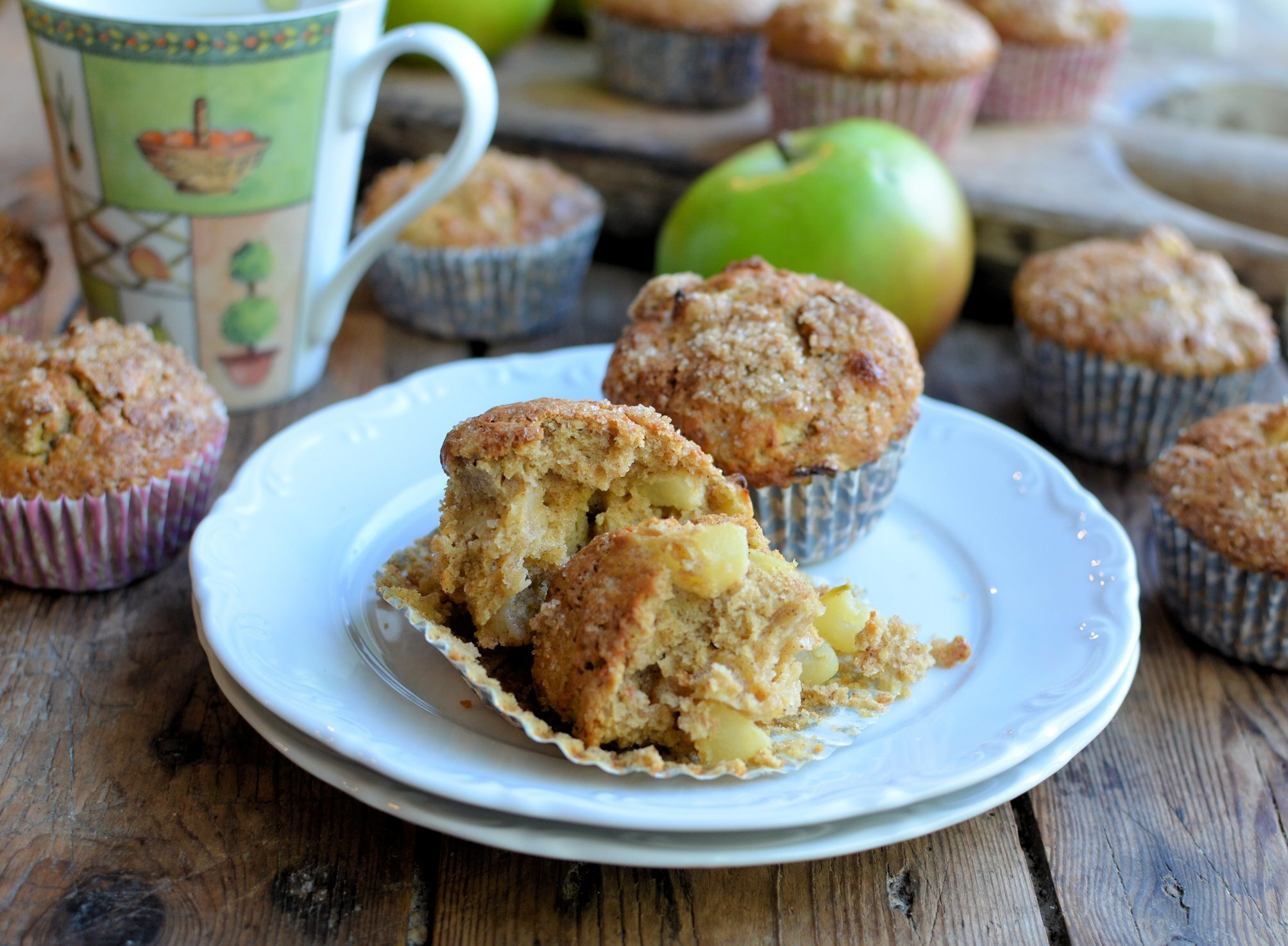 Apple Pie Muffins for Bramley Apple Week