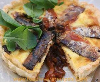 PILCHARDS QUICHE
